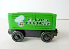 Wood Thomas & Friends Mr Jolly's Chocolate Car Y4107 Green  #0240