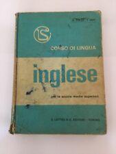 CORSO DI LINGUA INGLESE R Colle I Vay Lattes 1973 CON DISCO 33 GIRI MULTIMEDIALE