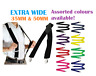 MENS WIDE SUSPENDERS BRACES ELASTIC STRONG ADJUSTABLE WEDDING PARTY WOMENS