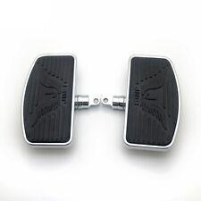 Rear Passenger Floorboard Footboards Footrest For Harley Sportster 883 1200 Dyna