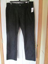 NWT Men's i Jean by Buffalo Spencer Slim Rinsed Black Jean Pant W 36 L 32