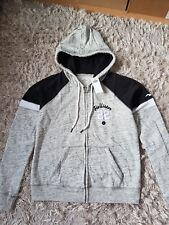 New Women's HOLLISTER  Logo Graphic Fleece Hoodie Size L heather grey RRP £45