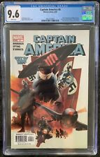 Captain America #6 CGC 9.6 First Full Appearance The Winter Soldier KEY Falcon
