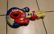 2002 Sesame Street Jam with Elmo Guitar, Fisher Price lights up works great