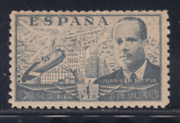 ESPAÑA (1941) NUEVO SIN FIJASELLOS MNH SPAIN - EDIFIL 946 (4 pts)