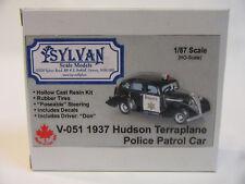 Sylvan Scale Models  Canada Resinbausatz  1937 Hudson Terraplane Police