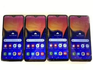 Lot of 4 Samsung Galaxy A10e SM-A102U AT&T Unlocked *Check IMEI*