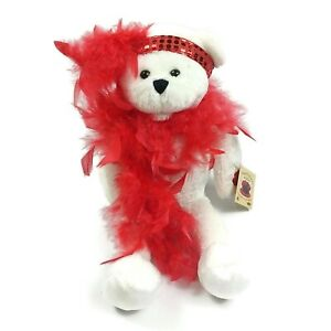 """Chantilly Lane Musical Bear  """"Roxie Bear"""" sings """"I Wanna Be Loved By You"""""""