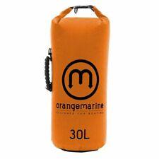 ORANGEMARINE 1210015 Sac étanche renforcé poignée orange 30L avec bandoulière