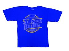 Old Time Hockey St. Louis Blues Garment Dyed Coil T-Shirt