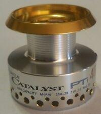 New Quantum Quantium CATALYST PTi 40 Spinning Reel part aluminum Spare Spool