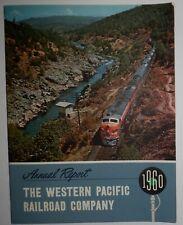 Western Pacific Railroad 1960 Annual Report