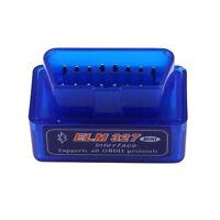 NEW Mini ELM327 V2.1 OBD2 II Bluetooth Diagnostic Car Auto Interface Scanner D