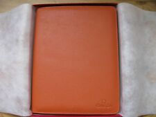 Brand New Omega Leather Executive Notepad - VERY RARE & HIGHLY COLLECTABLE