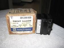 Square D Qo2301021 Qo230 1021 2Pole 30Amps 120/240Volts Plug-In w/ Shunt Breaker