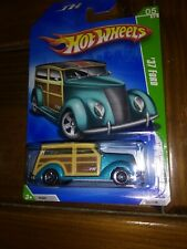 2009 Hot Wheels Treasure Hunts '37 Ford Woody and very good condition