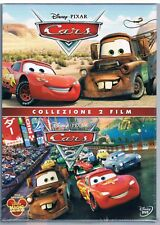 CARS MOTORI RUGGENTI + CARS 2 COLLEZIONE BOX 2 DVD DISNEY PIXAR F.C SIGILLATO!!!