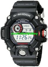 Casio Mens G-Shock Rangeman Master of G Stainless Steel Solar Watch GW-9400-1CR