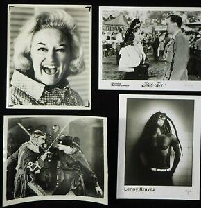 LG2-62  HOLLYWOOD MOVIES TV MUSIC Lot of 500 CELEBRITY PHOTOS  1940's thru '80's
