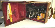 Vintage Bolex Paillard H 8 Movie Camera Instructions & Case