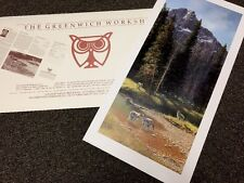 Bonnie Marris THE COMEBACK (Yellowstone Fire) 1992 --NIF SN Lithograph