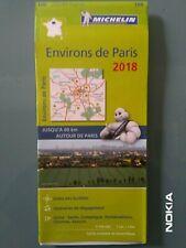 CARTE MICHELIN N°106 ZOOM ENVIRON DE PARIS - Ed.2018 - NEUVE