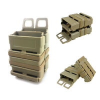 Tactical Rifle Double Magazine Pouch MOLLE System Holder for 5.56 Hunting