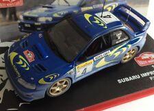 1/43 SUBARU IMPREZA WRC LIATTI RALLY MONTECARLO 1997 IXO ALTAYA DIECAST