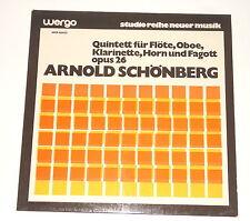 Arnold Schönberg - LP - Quintett Für Flöte, Oboe, Klarinette, Horn, Fagott