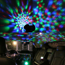 LE RGB LED Night Light Projector,Color Changing Ball Stage Lamp+USB Cable,CE,UK