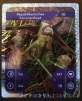 Star Wars Kaufland Glitzer Holo Karte Nr. 10