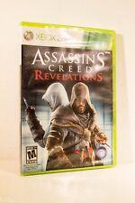 "Microsoft Xbox ASSASSIN'S CREED Revelations  (Xbox 360, 2011) Ubisoft  ""NEW"""