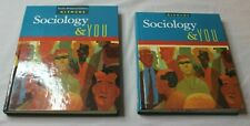 Glencoe Sociology & You Teacher & Student Edition Hardcover Textbook Set VGC