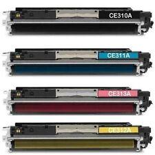 HP CE310A CE311A CE312A CE313A TONER CARTRIDGE SET HP 126A 126A CP-1020 1025NW