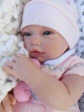 bébé Fanny tétine tenue complète poupée idéale pour enfant jouet- reborn neuf