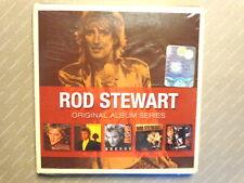 ROD STEWART  -  ORIGINAL ALBUM SERIES  -  5 CD WARNER  2009  NUOVO E SIGILLATO
