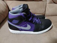 Nike Air Jordan 1 Black Purple Size 12