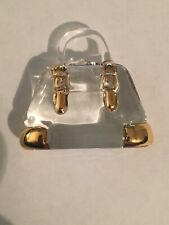 About Face Designs Handcrafted Grandmother Glass Purse/hand Bag #183702