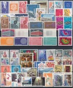Andorra; Briefmarkenlot , alle postfrisch / MNH**