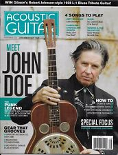 Acoustic Guitar magazine John Doe Martin Authentic Rainsong Image Flex System