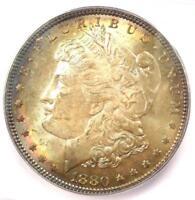 1880 Morgan Silver Dollar $1 (1880-P). ICG MS65 - Rare Date in MS65 - $750 Value