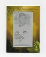 Kevin Newman 2019 Topps Allen & Ginter #194 Mini 1/1 Magenta Printing Plate