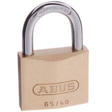ABUS Lock Padlock 65/40 40mm -KEYED ALIKE Brass Bodied Padlocks-FREE POST