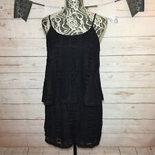 NWOT Mossimo Womens Black Lace Romper Shorts Size S