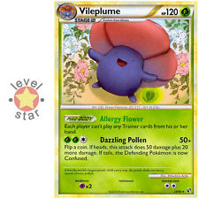 VILEPLUME HGSS Undaunted 24/90 Rare New Pokemon Card