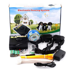 Newest Underground Waterproof 2 Shock Collar Electric Dog Fence Fencing System E