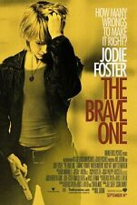 THE BRAVE ONE 27x40 D/S Original Movie Poster One Sheet