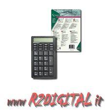 TECLADO NUMERICA USB GEMBIRD LCD DISPLAY 12 DÍGITOS CALCULADORA ORDENADOR