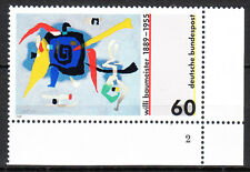 BRD 1989 mié. nº 1403 post frescos eckrand 4 forma número 2 top!!! (9975)