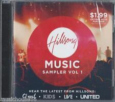 HILLSONG MUSIC SAMPLER / VOLUME 1 - Christian Music CCM Praise Worship CD
